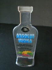 ABSOLUT VODKA DISPLAY ACRYLIC STAND RARE & COLLECTIBLE BARWARE~MIXER DRINKS