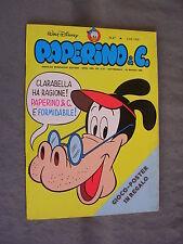 PAPERINO E C. #  47 - 23 maggio 1982 - CON INSERTO - WALT DISNEY - OTTIMO