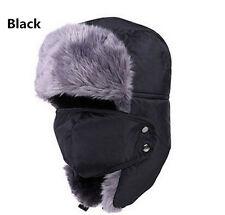 Unisex Men/Women Winter Hat Trapper Aviator Trooper Earflap Warm Ski With Mask