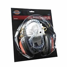 DICKIES WORKER PROTECTION KIT PPE GOGGLES DUST MASK EAR DEFENDERS MUFFS SA8901