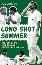 NEW - Long Shot Summer The Year of Four England Cricket Captains 1988, Neil Robi