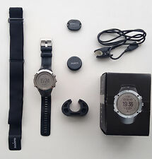 Suunto Ambit 3 Peak Sapphire Heart Rate Sports watch with accessories