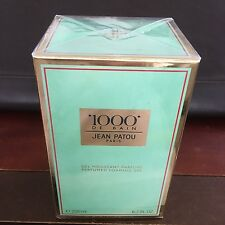 Jean Patou 1000 Original Perfumed Foaming Gel 6.7 oz Vintage Sealed Box Last One