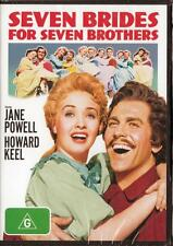 SEVEN BRIDES FOR SEVEN BROTHERS - NEW & SEALED REGION 4 DVD FREE LOCAL POST