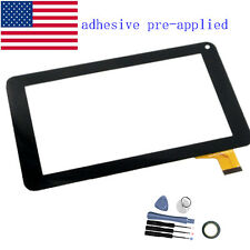 """New Digitizer Touch Screen Glass panel For Linsay F-7HD 7"""" Inch Tablet"""