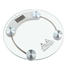 180KG Digital Electronic Glass LCD Weighting body Scales Bathroom Helps LoseFat