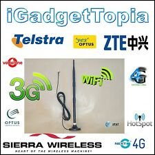 12 dBi Antenna TS9 Next G 3G 4G Modem WiFi Telstra Sierra Wireless ZTE MF60