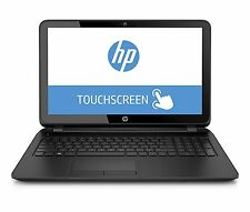 "New HP 15.6"" HD TouchScreen Laptop Intel Quad Processor 4GB 500GB Window 10 WiFi"