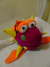 "B.J. TOYS COLORFUL FISH PLUSH/STUFFED ANIMAL-17""-ATTACHED HANGER-LKN-NURSERY"