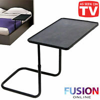 BED TABLE ADJUSTABLE BEDSIDE TABLE FLOATING FOLDING LAPTOP STUDY FOOD TABLE