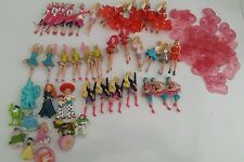 Job Lot Bundle Barbie Kinder Surprise Egg Toys (2014) plus disney figures