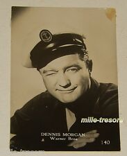 PHOTO à collectionner : Dennis MORGAN issue du paquet STAR Gum (CHEWING GUM)