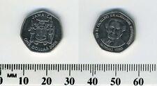 Jamaica 2005 - 1 Dollar Nickel Plated Steel Coin - Sir Alexander Bustamante
