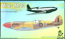 Unicraft Models 1/72 MILES M.23 British 1941 Fighter Project