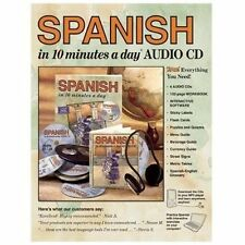 10 Minutes a Day: Spanish in 10 Minutes a Day® by Kristine K. Kershul (2004,...