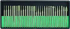 30PC 240 GRIT DIAMOND BURR BIT SET DREMEL ROTARY TOOL GLASS CERAMIC 8230DD24