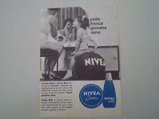 advertising Pubblicità 1965 CREMA NIVEA