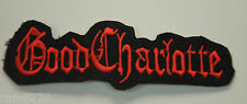GOOD CHARLOTTE RB  Embroidered Sew Iron On Cloth Patch Badge Jacket T-Shirt gc1