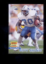 1999 Sports Illustrated BARRY SANDERS Detroit Lions Greats of the Game Card