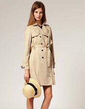Jaeger 'Boutique' Beige Summer Mac / Coat Size 6 may fit 8-10