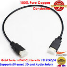 0.5M HDMI Cable v1.4 3D High Speed with Ethernet HEC Full HD 1080p Digital