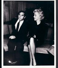 MARILYN MONROE VERY RARE 1957 PHOTO WITH BUSINESS PARTNER MILTON GREENE