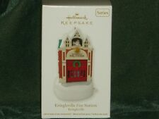 Hallmark 2012 Kringleville Fire Station - Kringleville Ornament - NEW (BIN #2)