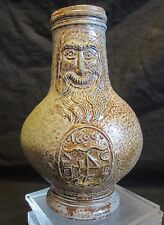 Original Bartmann Bellarmine jug from Frechen Original Dated 1600 and signed E.B
