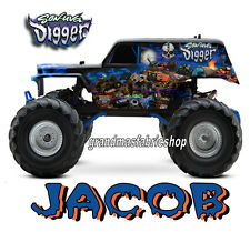Son-uva Grave Digger Monster Truck Personalized t shirt son of a BIRTHDAY GIFT