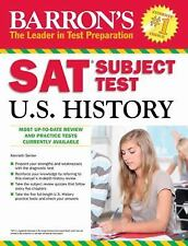 Barron's SAT Subject Test in U. S. History by Kenneth Senter (2012, Paperback)