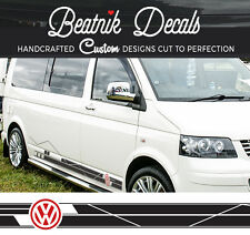 VW T6, T5, T4 Volkswagen Side Stripes Sticker Transporter Camper Graphical Decal