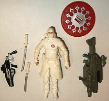 "GI JOE 2009 STORM SHADOW v32 RISE OF COBRA movie action figure 3.75"" NINJA"