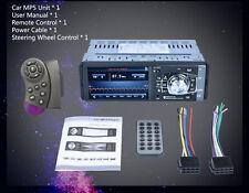 Pantalla LCD 1080P 1 DIN coche de radio estéreo Bluetooth FM AUX REPRODUCTOR DE MP3 MP4 MP5 USB