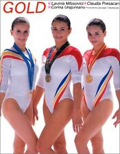 Romania Women's gymnastics Gold medalist Olympic Photo Collection Book