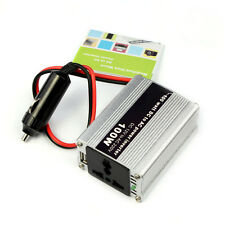 New Car DC 12V to AC 220V 100W Power Inverter Adapter Plug Excellent
