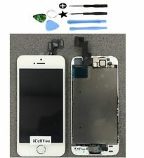 White LCD Touch Screen Display Digitizer Assembly for iPhone 5S Gold + Tool Kit
