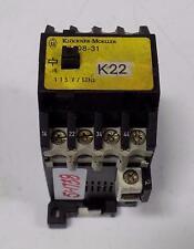 KLOCKNER MOELLER 115V 60Hz CONTACTOR DIL08-31