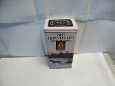 "Old Grand Dad The Spirit of America Collector's tin. 9-1/2"" tall x 4-3/4"" x 3-1/"