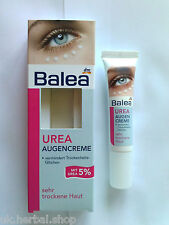 Balea Eye-Contour Cream for Very Dry Skin 5% Urea-Optimum Hydration 15 ml.