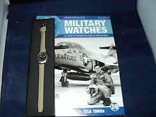 Eaglemoss Military Watches  Issue 59 - American Pilot's Watch 1960s