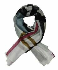 Ladies elegant and Fashionable viscose printed scarf - LARGE CHECKERED (YSSF001)