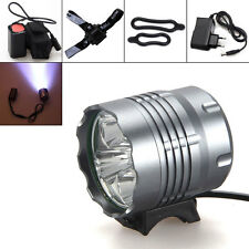 15000Lm 5 x CREE XM-L U2 LED Bicycle Light Bike Cycling Camping Headlamp