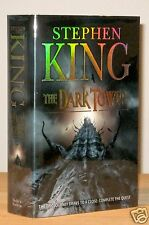STEPHEN KING THE DARK TOWER VII ARTIST SIGNED +DRAWING UK TRADE NEW UNREAD 1st