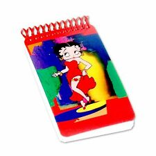 Lenticular Betty Boop Spiral Abstract 3D Notebook 2x4in 200 Page #BB-208-NBM#