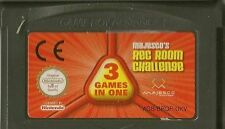 NINTENDO GAMEBOY ADVANCE MAJESCO'S REC ROOM CHALLENGE 3 GAMES IN ONE GBA GAME