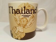 Starbucks THAILAND Collectors Global Icon Series Coffee Tea Mug Cup ~ NEW!!