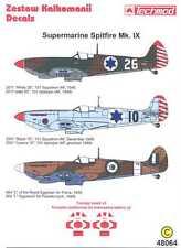 Techmod Decals 1/48 SUPERMARINE SPITFIRE Mk-IX w/Masks