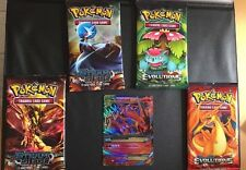 Replica Pokemon Cards, 4 Sealed booster Packs + EX Card + Random Opened Booster