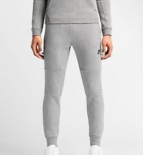Nike Tech Fleece Pant Pantalones Heather Gris Oscuro/Medio Gris/Negro/Negro XL
