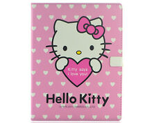 Japan Hello Kitty PU Leather Pouch Case protector for apple iPad 2 3 sleep mode